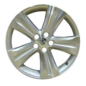 69536 Refinished Toyota Highlander 2008 2013 19 Inch Wheel Machined And Silver