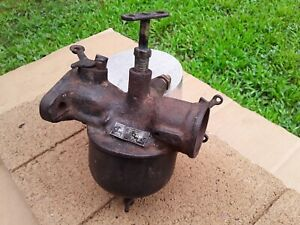 Vintage Model T Ford Holley Nh Carburetor Detroit Mich