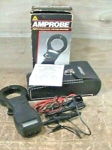 Pre owned Tested Amprobe acd 9 Digital Snap around Volt amp ohmmeter W Leads