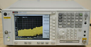 Agilent Keysight E4448a High Performance Psa Spectrum Analyzer 3hz 50ghz Good