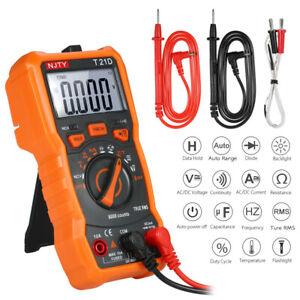 6000 Counts Digital Multimeter Non Contact True Rms Multi Meter Tool New S8i8