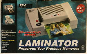 Tde Systems 4 x6 Laminator For Id s Pictures Crafts Business Cards Tested