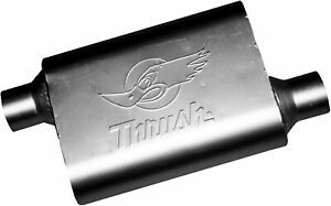 Thrush 17660 Welded Muffler Available In 3 Inch Inlet And Outlet
