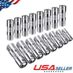 Hydraulic Roller Lifters Set 16 For Chevy Gm 5 3 5 7 6 0 Ls1 Ls2 Ls7 12499225