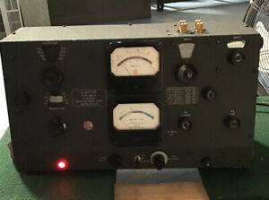 Boonton Radio Type 260a Vintage Test Equipment Q Meter 50kc 50mc Powers On As is