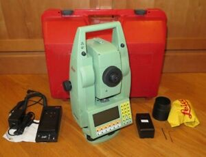 Leica Tcra1105 5 Reflectorless Motorized Total Station For Surveying