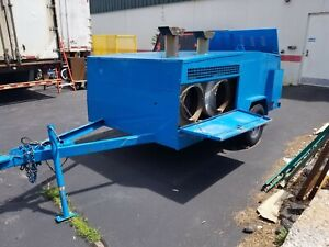 Allmand Mh1000 Towable Indirect Heater Blower Construction Diesel Generator Fuel