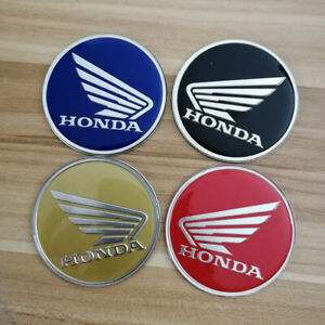 Motorbike Scooter Motorcycle 3d Round Wing Wings Decal Sticker For Honda Cb 360