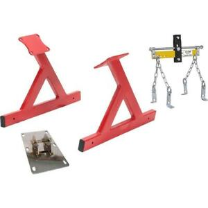 Speedway Gm Ls V8 Engine Storage Stand With Lift Plate Leveler