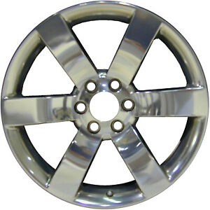 05254 Refinished Chevrolet Trailblazer 2006 2009 20 Inch Wheel Polished