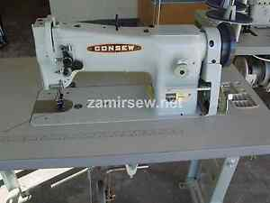 Consew 206rb5 Industrial Sewing Machine Walking Foot With 3 4 Hp Servo Motor