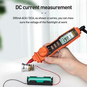 A3002 Digital Multimeter Pen Type 4000 Counts With Non Contact Ac dc Tester Tool