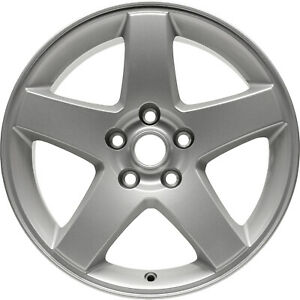 02325 New Compatible 17in Aluminum Wheel Fits Dodge Charger 2008 2010 Silver