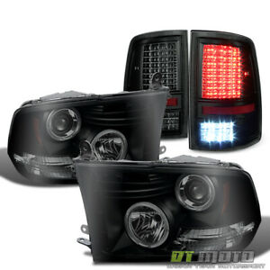 2009 2018 Ram 1500 2500 3500 Led Projector Headlights full Led Tail Lights Lamps