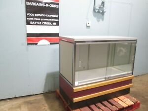 kason Heavy Duty Commercial Lighted Dry Bakery Display Case Merchandiser