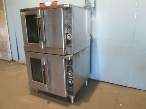 hobart Hec 40 Hd Commercial 208v Dual Electric Double Stacked Baking Oven