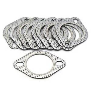 5pcs 2 5 Inch 2 Bolt Exhaust Header Down Pipe Manifold Flange Gasket Downpipes