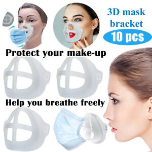 Reusable Washable Face Masks With Breathing Valve 10pcs Filter Mouth Mask Set