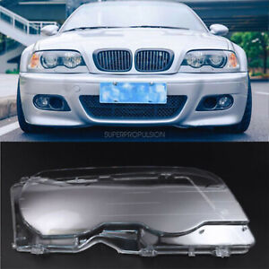 Right Headlight Cover Lens For Bmw E46 Coupe 2dr 2000 2003 Pre Facelift