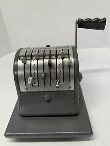 Paymaster Ribbon Check Writer Series 8000 8n115157 Excellent Working Condition