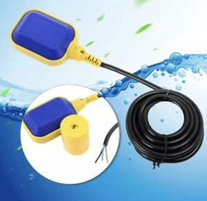 5m Float Switch Automatic Water Liquid Level Sensor Sump Tank No nc Controller