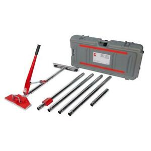 Roberts Power Lok Carpet Stretcher Kit Rolling Case Stretch Up To 23 5 Ft 8 Pcs