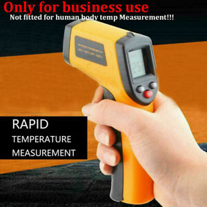 Un contact Lcd Ir Laser Infrared Digital Temperature Thermometer Gun Us