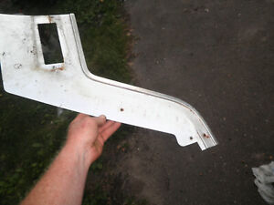 1968 Ford Tbird Thunderbird Coupe Rear Seat Brushed Aluminum Side Panels