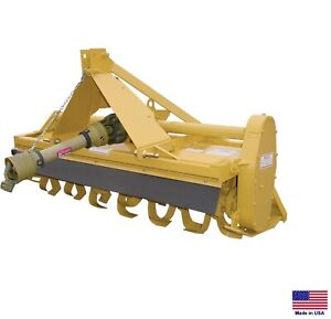 Rotary Tiller 3 Point Hitch Mounted Pto Drive Cat I 72 Reverse Tine