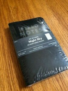 Field Notes Night Sky Summer 2013 Quarterly Edition Rare Sold Out