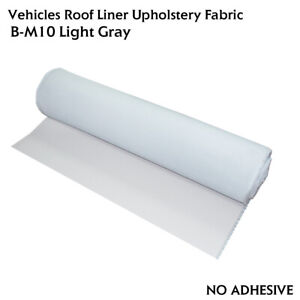 72 x60 Headliner Replacement Fabric Material Backing Foam Sagging Upholstery