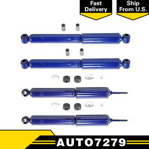 For Suzuki Samurai 1986 1988 1992 1994 Monroe Front Rear Shocks 4 Pieces A7