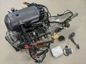 2005 Silverado 5 3 Engine Liftout 4l60e Transmission 2wd Dbw Low Miles 67k Video