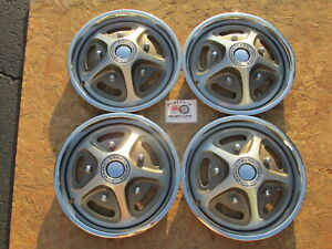 1970 72 Ford 1 2 Ton Pickup Truck Thunderbird 15 Mag Style Wheel Covers Hubcaps