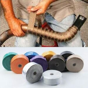 Car Motorcycle Ties Incombustible Turbo Exhaust Wrap Tape Motorcycle Auto Parts
