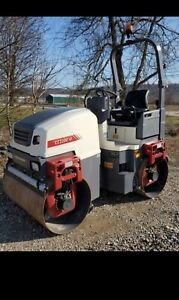 Dynapac Cc1200v1 Vibratory Roller Mint Condition Only 13 Hours