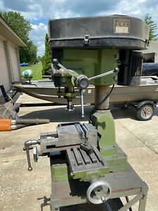 Milling Machine Bench Mill Table Top Mill 120 240 Volt Benchtop Xlt Condition