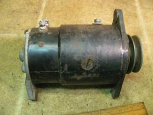 Delco Remy Starter Generator Turns Clockwise From Pulley End