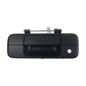 Outer Rear Tailgate Handle Latch For Tundra 2007 2013 To1915113 690900c040 Black