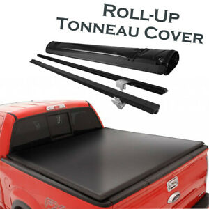 Premium Lock Roll Up Soft Tonneau Cover For 2015 2020 Ford F 150 5 5ft Short Bed