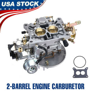 Two 2 Barrel Engine Carburetor Carb For Ford F 100 F 250 F 350 Mustang 2150 New