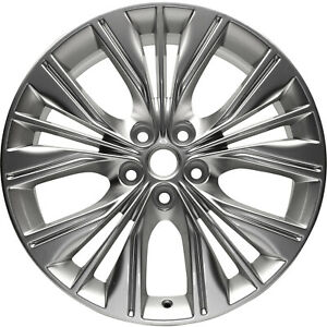 05615 New Compatible 20 Inch Aluminum Wheel Fits Chevrolet Impala 2014 2017