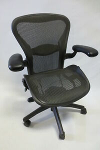Herman Miller Aeron Chair Size B Fully Adjustable Excellent Condition