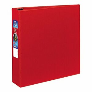 Avery Heavy duty Binder With 2 inch One Touch Ezd Ring Red 79582