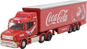 Oxford - Scania T Cab Box Trailer/coca Cola Xmas Ntcab007cc (9/20) * NEW