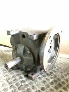 Baldor Svf 200 60 a a Worm Gear Speed Reducer 60 1 505in lbs 0 360hp