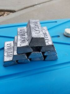15 Pounds Lbs. Soft Lead Ingots for Casting Molding Jigs Sinkers Bullets $26.00