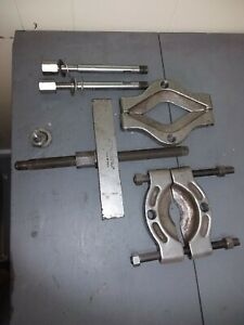 Otc Puller Set Bearing Seperator 679 951 And 927 T Bar W Forcing Screw