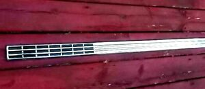 1956 Ford 2 Door Fairlane Crown Victoria Rear Quarter Long Trim Molding Nos