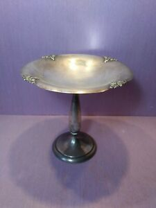 Fisher Alexandria Sterling Silver 2651 Compote Candy Dish 8 5 Oz Not Weighted